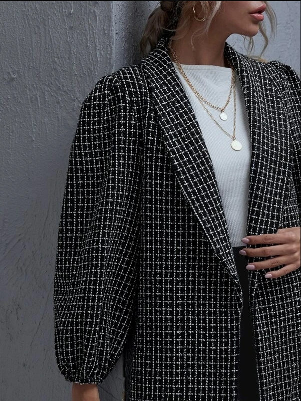 win a trendy tweed coat on oh la chic shop